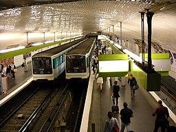 Paris metro - Pont de S�vres - 2