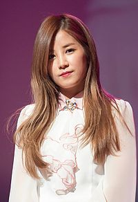 Park Chorong at Korea National University of Arts, 23 February 2015.jpg