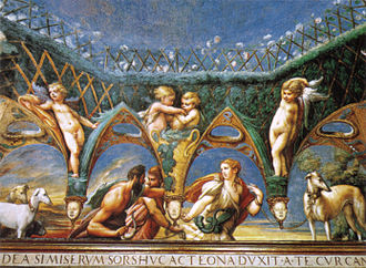 Rocca Sanvitale - Parmigianino Fresco.
