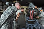 Pass or fail, 8th MOS evaluators ensure load crews meet the requirements 110628-F-RB551-040.jpg