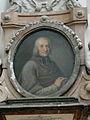 Passau Dom Grabdenkmal Thomas Johann von Thun und Hohenstein Porträt.jpg