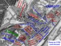 Passy en 1730 sur carte Roussel.png