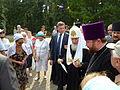 Patriarch Kirill in Memorial park 09.JPG