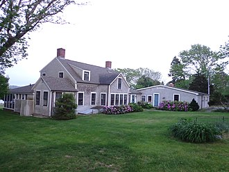 Paul Cuffee - Paul Cuffe farm, Westport, Massachusetts today