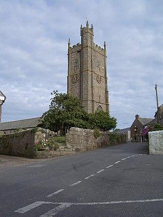 Paul, Cornwall - Image: Paul church penwith