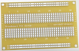 Breadboard - Image: Pcb 33.430 g 1