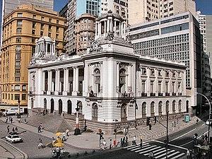 Municipal Chamber of Rio de Janeiro - Image: Pedro Ernesto Palace 1 CCBY