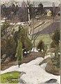 Pekka Halonen - Spring Frost (1906).jpg