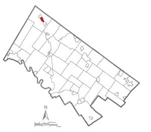 Pennsburg, Pennsylvania - Image: Pennsburg Montgomery County