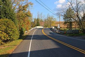 Pennsylvania Route 192 - Pennsylvania Route 192 near Cowan
