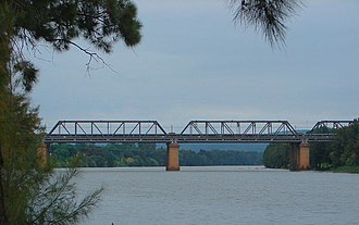Penrith, New South Wales - Victoria Bridge over the Nepean River, linking Penrith to Emu Plains