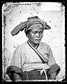 Pepohoan female, headdress, Baksa, Formosa, John Thomson Wellcome L0056459.jpg