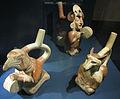 Perù, periodo moche (100-500 ca), recipienti con manico.JPG