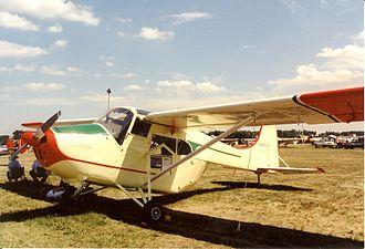 Edgar Percival E.P.9 - N747JC at Oshkosh, WI. 2001