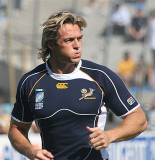 Percy Montgomery South African rugby union player