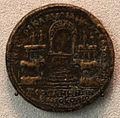 Pergamo, emissione monetale con altare di zeus e atena, 193-211 ca.JPG