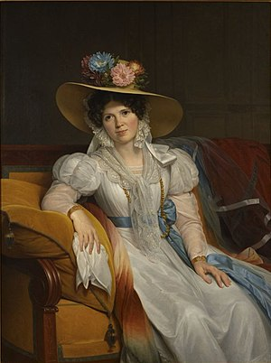 Casimir Pierre Périer - Madame Perier by Louis Hersent (1831)