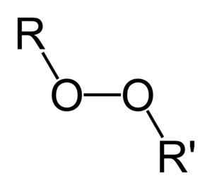 Organic peroxide - The general structure of an organic peroxide