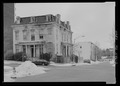 Perspective view - Sellers Mansion, 801 North Arlington Street, Baltimore, Independent City, MD HABS MD-1146-2.tif