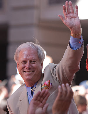 Peter Magowan - Magowan at the 2010 Giants World Series parade.