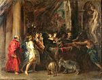 Peter Paul Rubens - Sacrifice in a Temple (Courtauld Institute).jpg