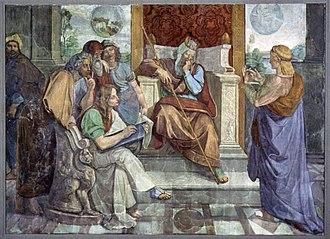 Miketz - Joseph Interprets Pharaoh's Dream (fresco circa 1816–1817 by Peter von Cornelius)