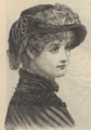 Peterson's Ladies National Magazine, June, 1883 - women's hat fashion 02.png