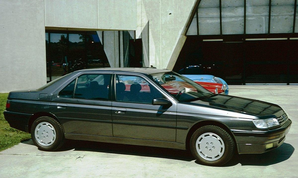 Peugeot 605 Wikipedia Wolna Encyklopedia