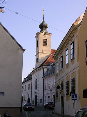 Nussdorf, Vienna - Nussdorf parish church