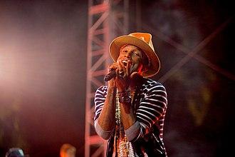 Konnichiwa (Skepta album) - Pharrell Williams worked with Skepta on the album.