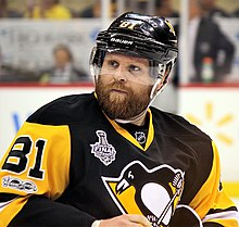 Photograph of Phil Kessel