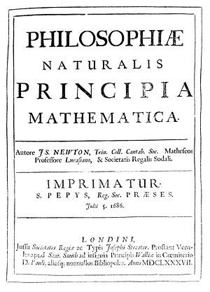 """Front cover of """"Philosophiae naturalis pr..."""