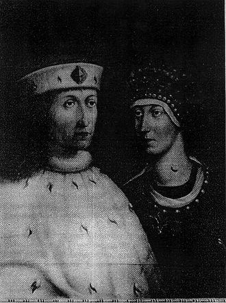 Philip, Elector Palatine - Philip, Count Palatine of the Rhine and his wife, Margaret of Bavaria