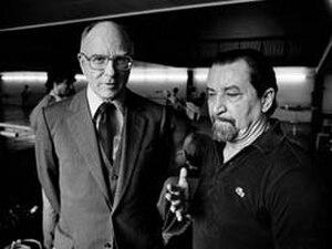 Prix de Lausanne - Philippe Braunschweig and Maurice Béjart in 1988