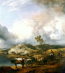 Landscape with Duck Hunter