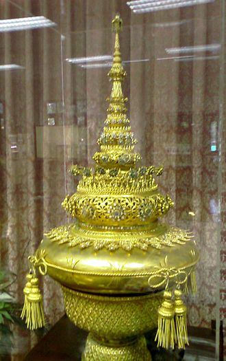 Phra Kiao - Phra Kiao replica on display at Chulalongkorn University Memorial Hall