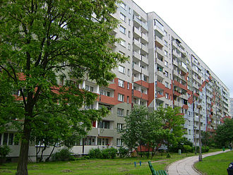 Polish property bubble - Block of flats in Cracow