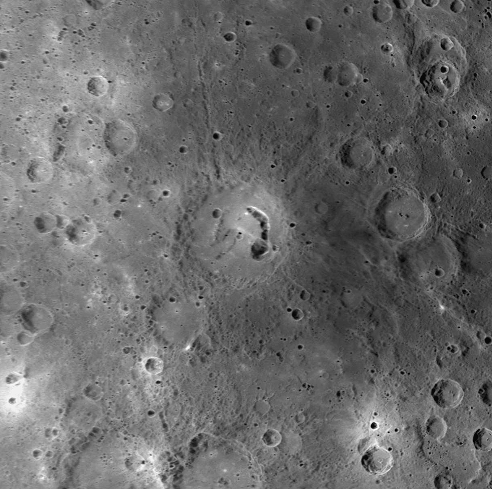 Picasso crater