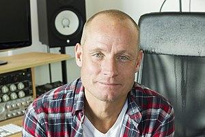 Rune Westberg - Image: Picture of Rune Westberg in his studio