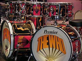 "Premier Percussion - Premier's replica of the classic ""Pictures of Lily"" Keith Moon's drumkit"