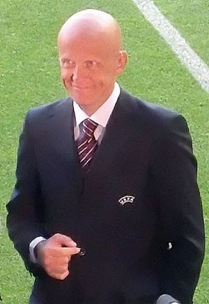 1999 UEFA Champions League Final - Pierluigi Collina was appointed as the referee for the match.