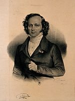 Pierre Salomon Segalas. Reproduction of lithograph by Maurin Wellcome V0005355.jpg