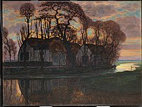 Piet Mondrian - Farm Near Duivendrecht, in the Evening - 1987.359 - Dallas Museum of Art.jpg