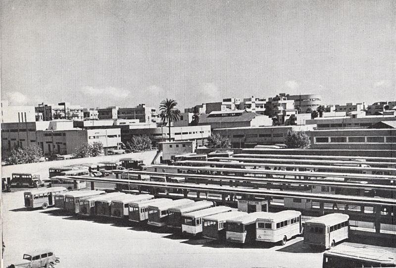 תחנת האוטובוסים המרכזית בתל אביב