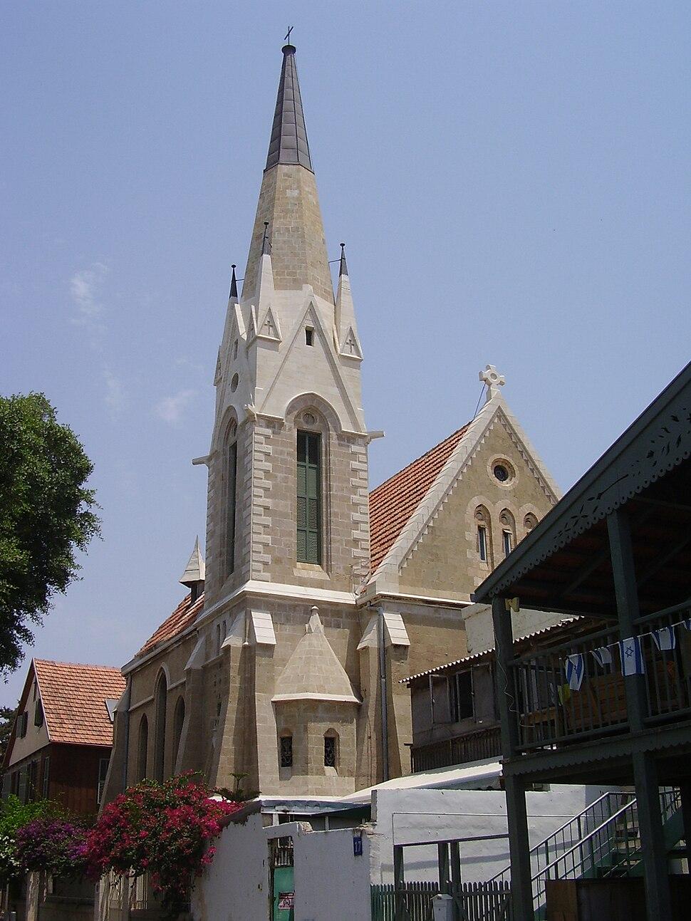PikiWiki Israel 9208 emmanuel church in jaffa