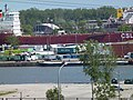 Pineglen and another freighter, moored in Toronto, 2013 06 03 A (7).JPG