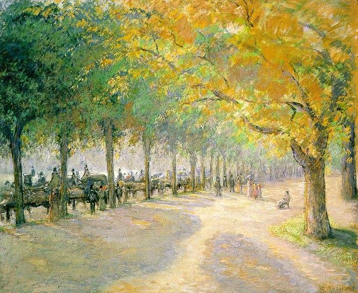 Pissarro Hyde Park