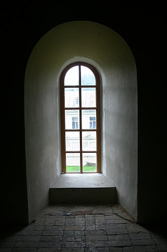 Pitsunda Cathedral - Image: Pitsunda Cathedral window