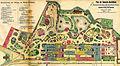 Plan Gewerbe-Ausstellung für Rheinland, Westfalen, Grundzüge des Zoos 1880.jpg