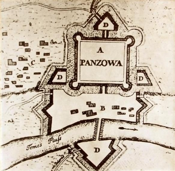 Plan Pančeva 18. vek